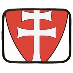 Coat of Arms of Apostolic Kingdom of Hungary, 1172-1196 Netbook Case (Large)