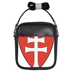 Coat of Arms of Apostolic Kingdom of Hungary, 1172-1196 Girls Sling Bags