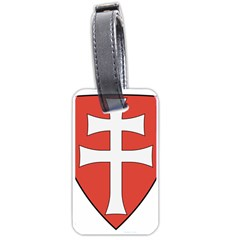 Coat of Arms of Apostolic Kingdom of Hungary, 1172-1196 Luggage Tags (Two Sides)