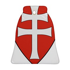 Coat of Arms of Apostolic Kingdom of Hungary, 1172-1196 Bell Ornament (Two Sides)