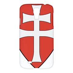 Coat of Arms of Apostolic Kingdom of Hungary, 1172-1196 Samsung Galaxy S4 I9500/I9505 Hardshell Case