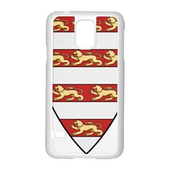 Hungarian Kings (1000-1301) & Seal of King Emeric (1202) Samsung Galaxy S5 Case (White)