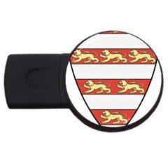 Hungarian Kings (1000-1301) & Seal of King Emeric (1202) USB Flash Drive Round (1 GB)