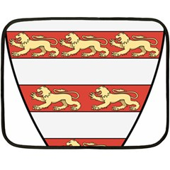 Hungarian Kings (1000-1301) & Seal of King Emeric (1202) Double Sided Fleece Blanket (Mini)
