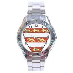 Hungarian Kings (1000-1301) & Seal of King Emeric (1202) Stainless Steel Analogue Watch