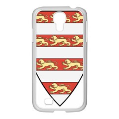 Hungarian Kings (1000-1301) & Seal of King Emeric (1202) Samsung GALAXY S4 I9500/ I9505 Case (White)