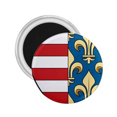 Angevins Dynasty of Hungary Coat of Arms 2.25  Magnets