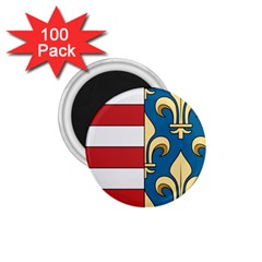Angevins Dynasty of Hungary Coat of Arms 1.75  Magnets (100 pack)