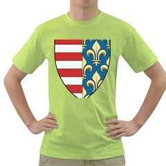 Angevins Dynasty of Hungary Coat of Arms Green T-Shirt