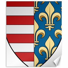 Angevins Dynasty of Hungary Coat of Arms Canvas 20  x 24