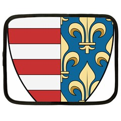 Angevins Dynasty of Hungary Coat of Arms Netbook Case (Large)