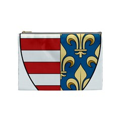 Angevins Dynasty of Hungary Coat of Arms Cosmetic Bag (Medium)
