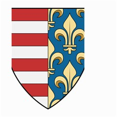 Angevins Dynasty of Hungary Coat of Arms Small Garden Flag (Two Sides)