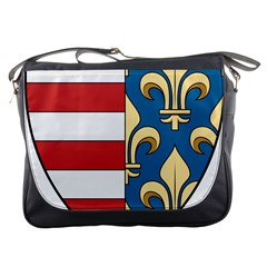 Angevins Dynasty of Hungary Coat of Arms Messenger Bags