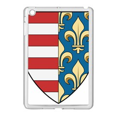 Angevins Dynasty of Hungary Coat of Arms Apple iPad Mini Case (White)
