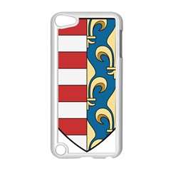 Angevins Dynasty of Hungary Coat of Arms Apple iPod Touch 5 Case (White)