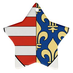 Angevins Dynasty of Hungary Coat of Arms Ornament (Star)