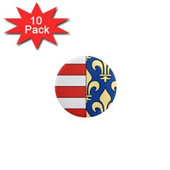 Angevins Dynasty of Hungary Coat of Arms 1  Mini Magnet (10 pack)
