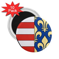Angevins Dynasty of Hungary Coat of Arms 2.25  Magnets (10 pack)