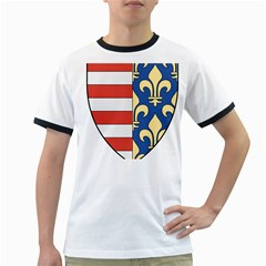 Angevins Dynasty of Hungary Coat of Arms Ringer T-Shirts