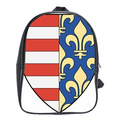Angevins Dynasty of Hungary Coat of Arms School Bags(Large)