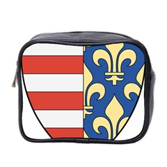 Angevins Dynasty of Hungary Coat of Arms Mini Toiletries Bag 2-Side