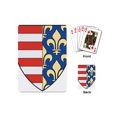 Angevins Dynasty of Hungary Coat of Arms Playing Cards (Mini)