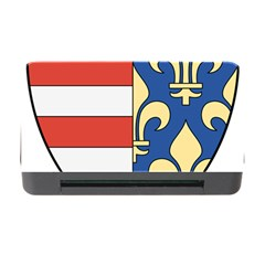 Angevins Dynasty of Hungary Coat of Arms Memory Card Reader with CF