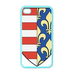 Angevins Dynasty of Hungary Coat of Arms Apple iPhone 4 Case (Color)