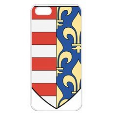 Angevins Dynasty of Hungary Coat of Arms Apple iPhone 5 Seamless Case (White)