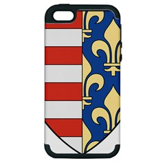 Angevins Dynasty Of Hungary Coat Of Arms Apple Iphone 5 Hardshell Case (pc+silicone)