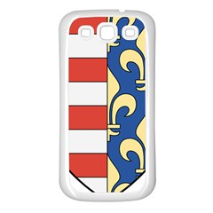 Angevins Dynasty of Hungary Coat of Arms Samsung Galaxy S3 Back Case (White)