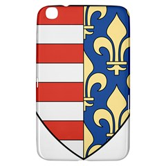 Angevins Dynasty of Hungary Coat of Arms Samsung Galaxy Tab 3 (8 ) T3100 Hardshell Case