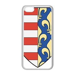 Angevins Dynasty of Hungary Coat of Arms Apple iPhone 5C Seamless Case (White)