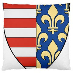 Angevins Dynasty of Hungary Coat of Arms Standard Flano Cushion Case (One Side)
