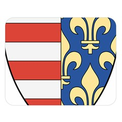 Angevins Dynasty of Hungary Coat of Arms Double Sided Flano Blanket (Large)
