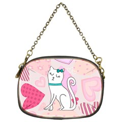 Cute Cat Character Chain Purses (One Side)