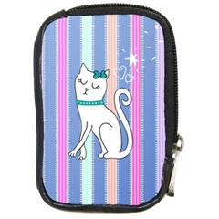 Cute Cat Character Compact Camera Cases