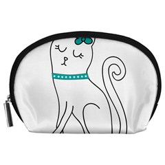 Cute Cat Character Accessory Pouches (Large)