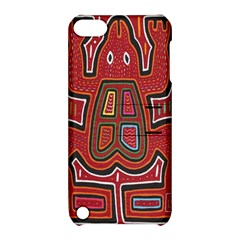 Frog Pattern Apple iPod Touch 5 Hardshell Case with Stand