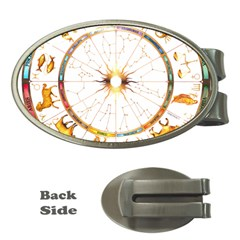 Zodiac Institute Of Vedic Astrology Money Clips (oval)