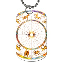 Zodiac Institute Of Vedic Astrology Dog Tag (Two Sides)