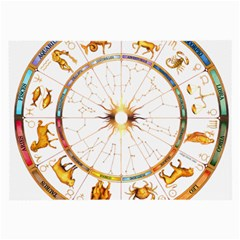 Zodiac Institute Of Vedic Astrology Large Glasses Cloth (2-Side)