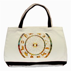 Zodiac Institute Of Vedic Astrology Basic Tote Bag (Two Sides)