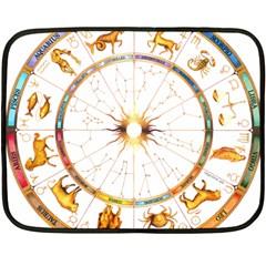 Zodiac Institute Of Vedic Astrology Double Sided Fleece Blanket (Mini)