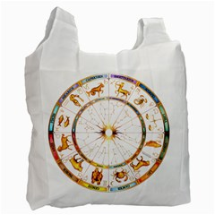 Zodiac Institute Of Vedic Astrology Recycle Bag (two Side)