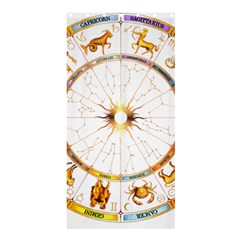 Zodiac Institute Of Vedic Astrology Shower Curtain 36  x 72  (Stall)