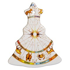 Zodiac Institute Of Vedic Astrology Ornament (Christmas Tree)