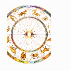 Zodiac Institute Of Vedic Astrology Large Garden Flag (Two Sides)