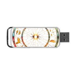 Zodiac Institute Of Vedic Astrology Portable USB Flash (One Side)